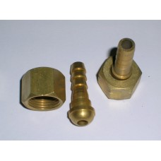 "Hose Connector - 3/8"" LH x 1/4"" Tail (Left)"