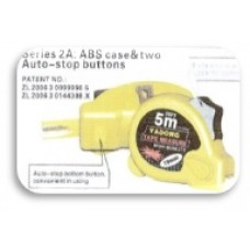 Measuring Tape Series 2A - ABS Case (2 Auto-Stop Buttons)