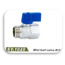 SY1020 Brass Mini Ball Valve (M/F)